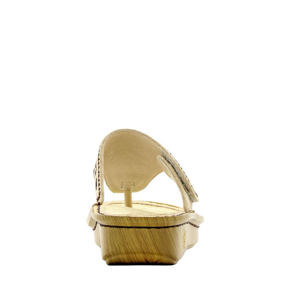 Vanessa Mandala Natural thong style sandal with adjustable strap on the mini outsole - VAN-178_S3 (1563275001910)