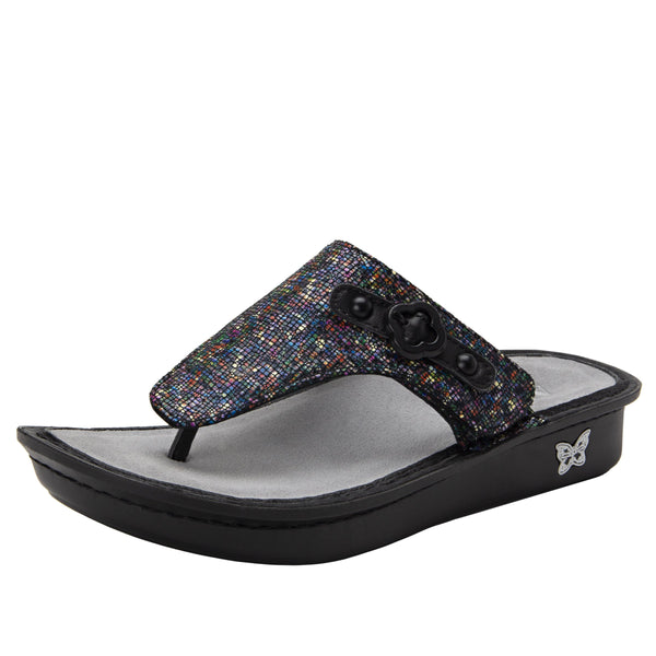 Vanessa All Spice thong style sandal with adjustable strap on the mini outsole - VAN-476_S1