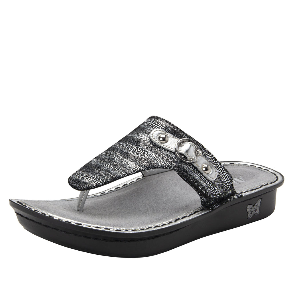 Vanessa Circulate thong style sandal with adjustable strap on the mini outsole - VAN-496_S1 (1949284532278)