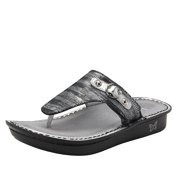 Vanessa Circulate thong style sandal with adjustable strap on the mini outsole - VAN-496_S1