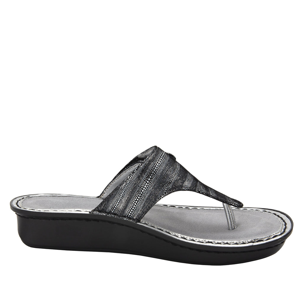 Vanessa Circulate thong style sandal with adjustable strap on the mini outsole - VAN-496_S2