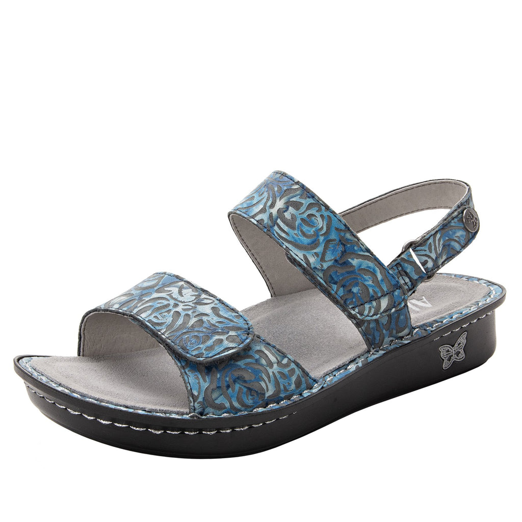 Verona Casual Friday three strap adjustable sandal on mini outsole - VER-194-S1