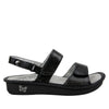 Verona Uptown Black Sandal - Alegria Shoes - 2