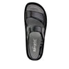 Verona Uptown Black Sandal - Alegria Shoes - 4