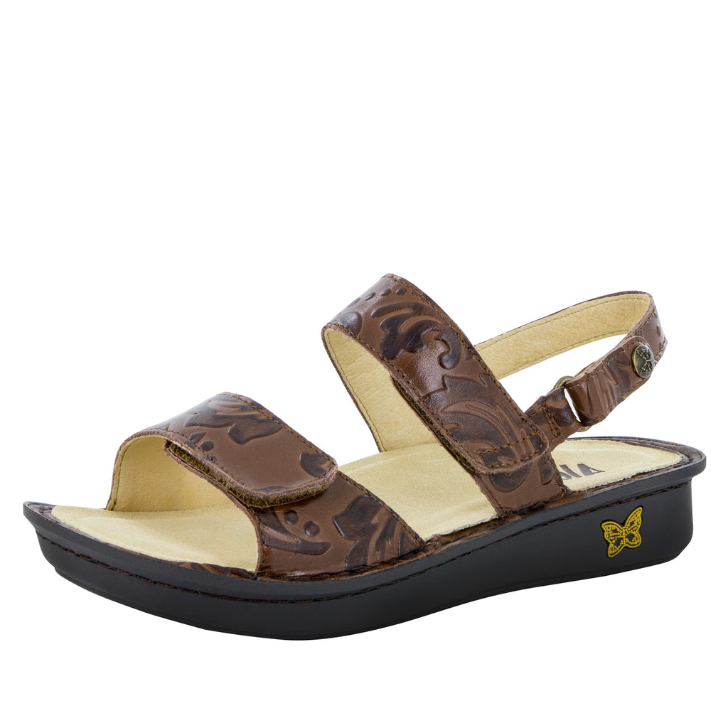 Verona Yeehaw Brown Sandal - Alegria Shoes