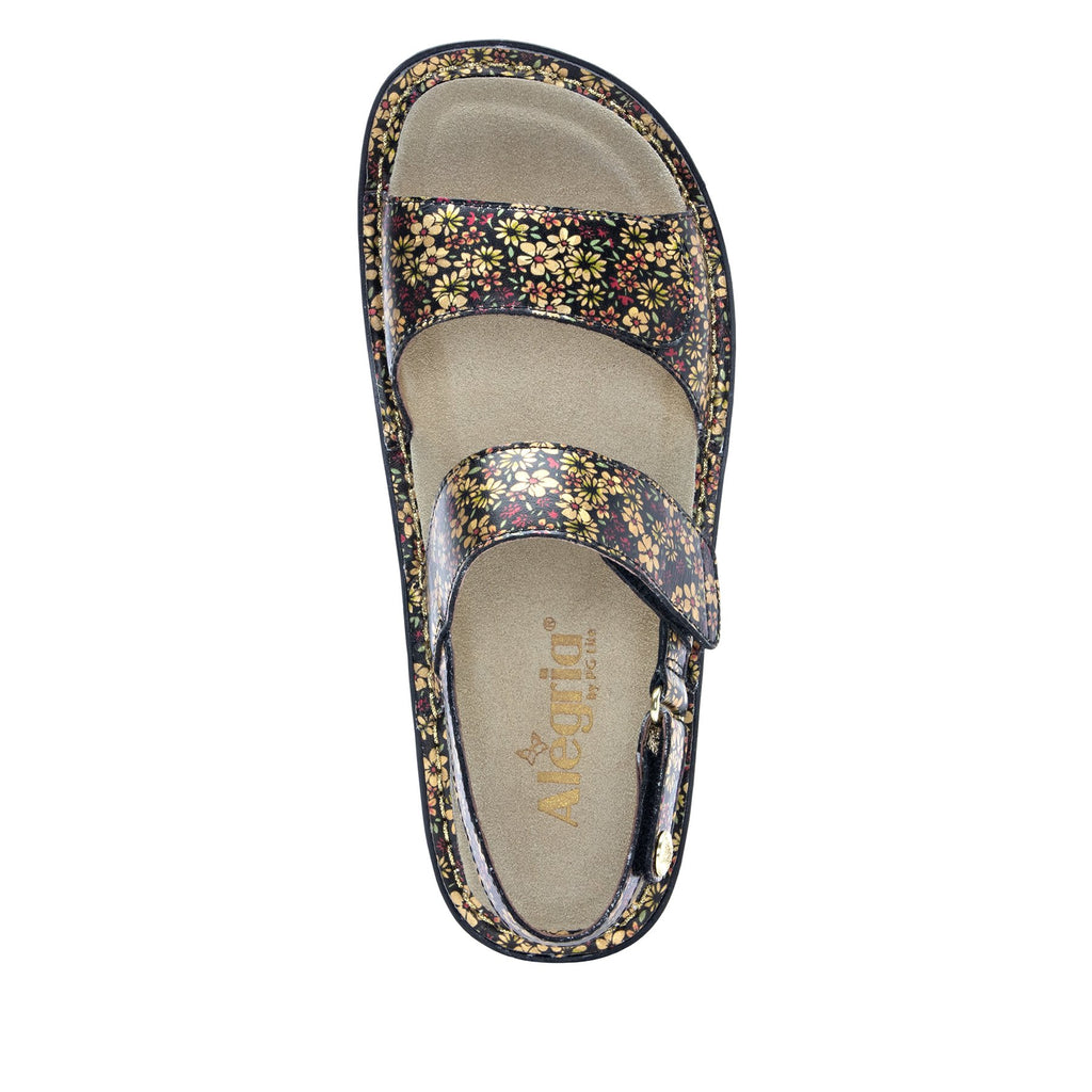 Verona Pretty Things three strap adjustable sandal on mini outsole - VER-677-S4