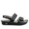 Verona Yeehaw Black Sandal - Alegria Shoes - 2