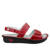 Verona Yeehaw Red Sandal - Alegria Shoes - 2