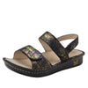 Verona Sierra slingback sandal with three hook and loop adjustable straps on mini outsole - VER-776_S1