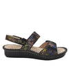 Verona Sierra slingback sandal with three hook and loop adjustable straps on mini outsole - VER-776_S2