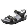 Vienna Romantical Sandal with two adjustable hook and loop strap closures and ankle strap - VIE-280_S1