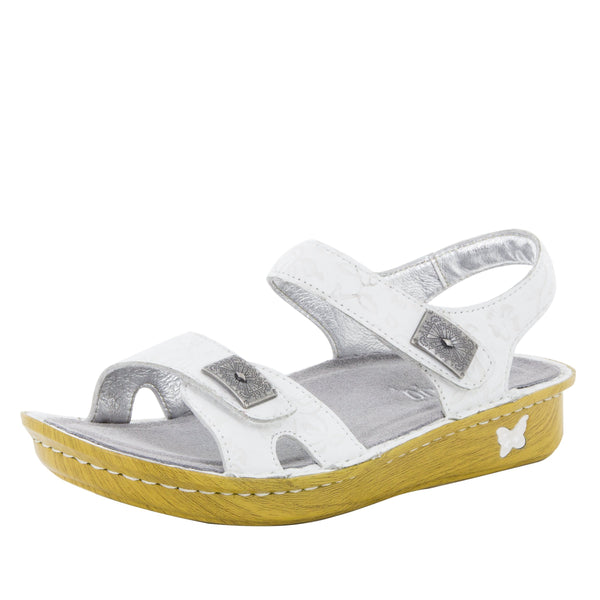 Vienna Morning Glory White Sandal