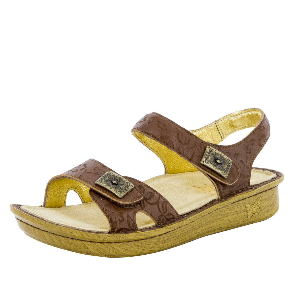 Vienna Morning Glory Tan Sandal