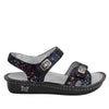 Vienna Lush Sandal with two adjustable hook and loop strap closures and ankle strap - VIE-940_S2