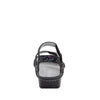 Vienna Lush Sandal with two adjustable hook and loop strap closures and ankle strap - VIE-940_S3