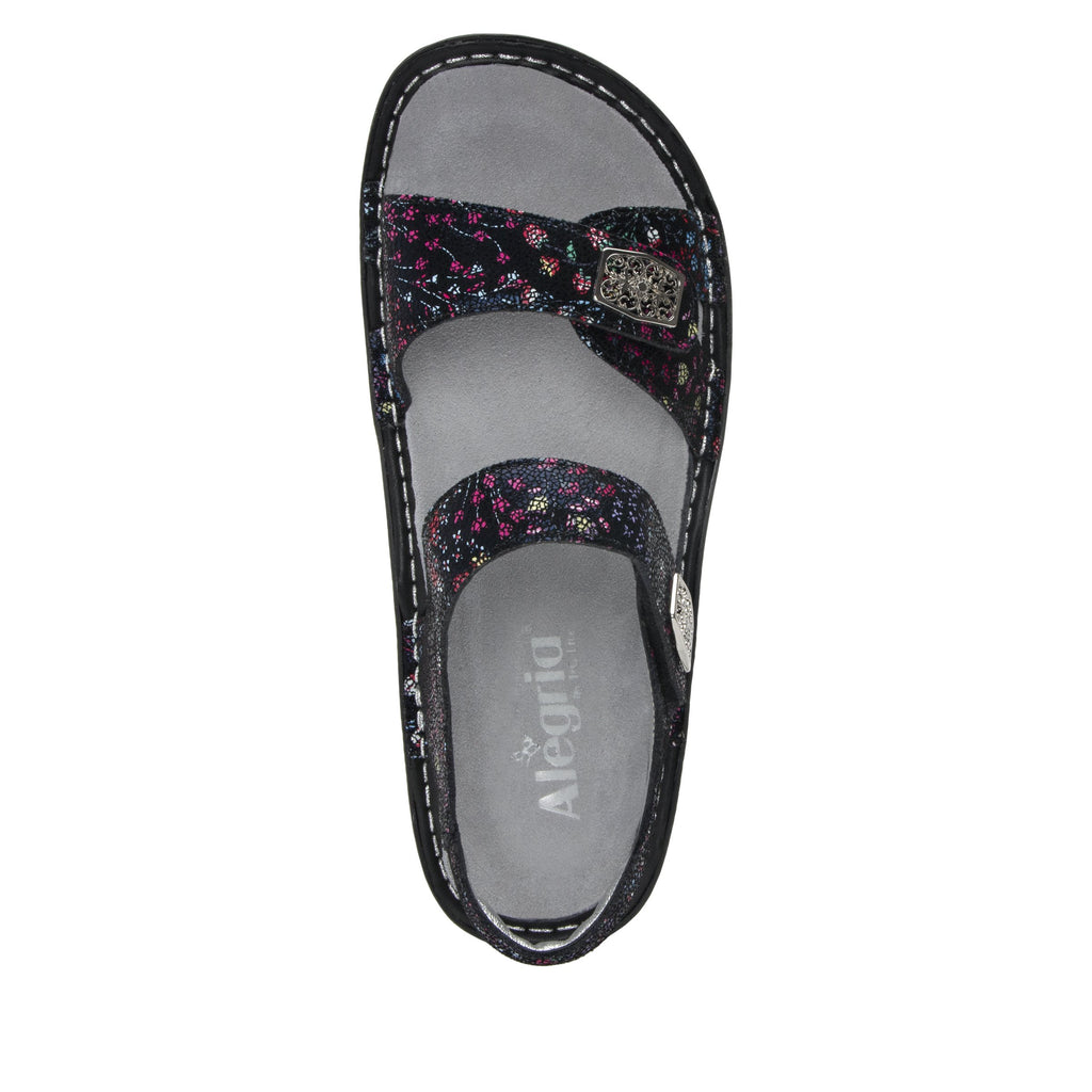 Vienna Lush Sandal with two adjustable hook and loop strap closures and ankle strap - VIE-940_S4