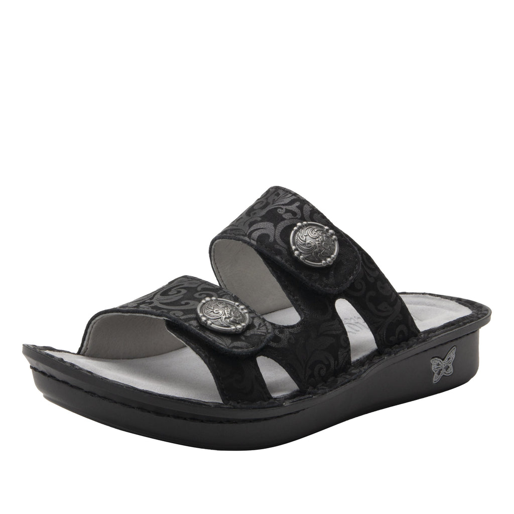 Violette Ivy slide sandal with cutout design on mini outsole - VIO-7715_S1