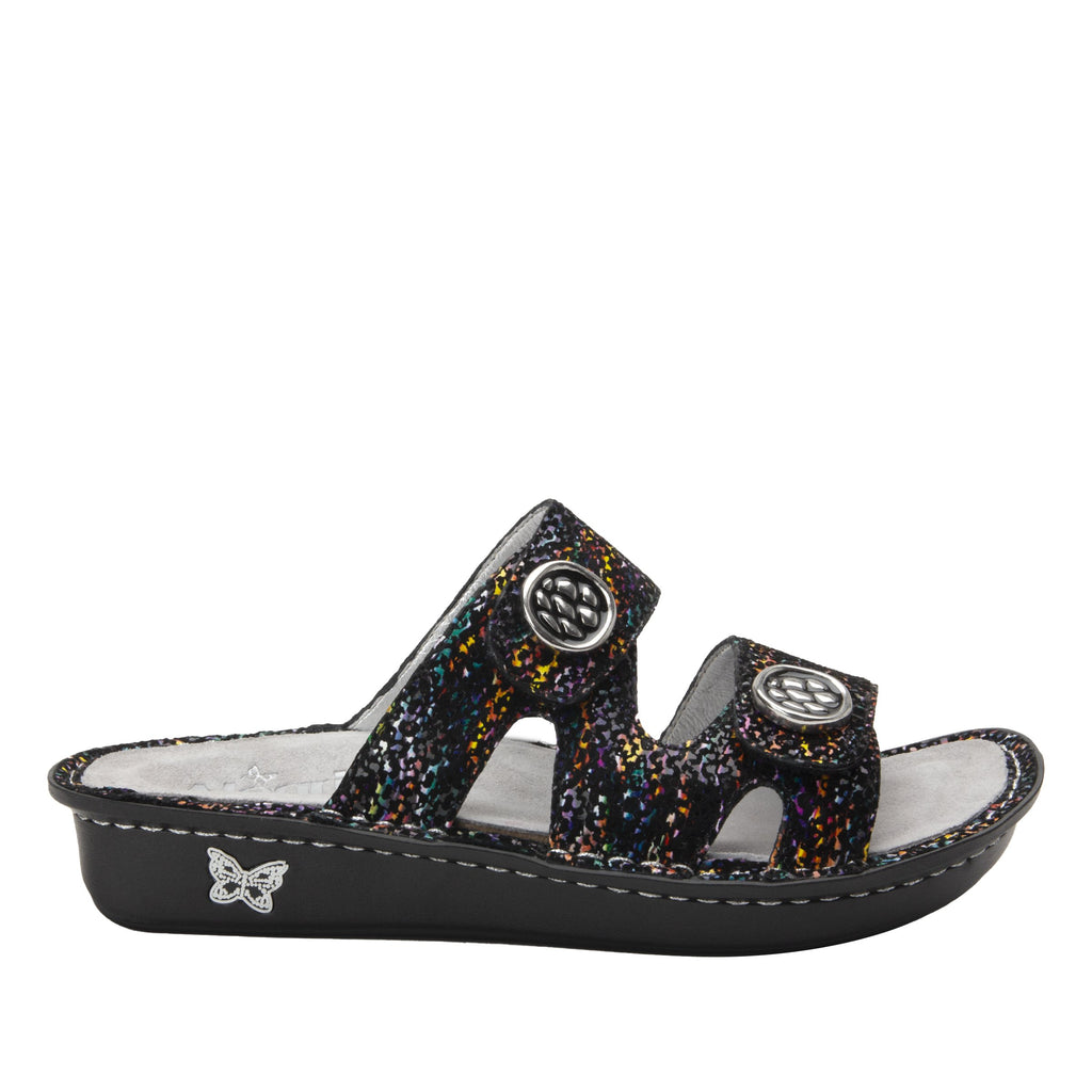 Violette Diversified slide sandal with cutout design on mini outsole - VIO-7745_S2