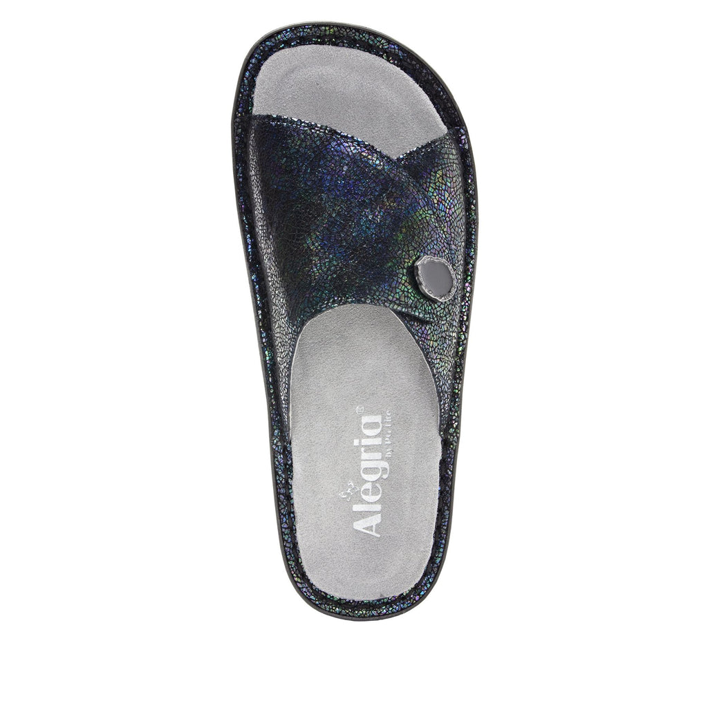 Vivica Aura fold over closure slide sandal on mini outsole - VIV-182_S4