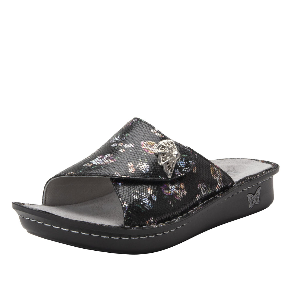 Vivica Ritz fold over closure slide sandal on mini outsole - VIV-7718_S1