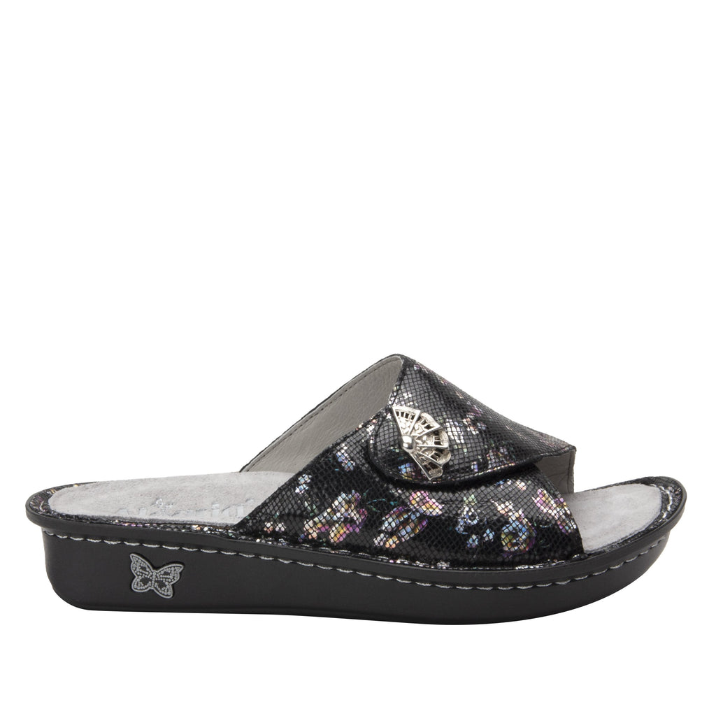 Vivica Ritz fold over closure slide sandal on mini outsole - VIV-7718_S2