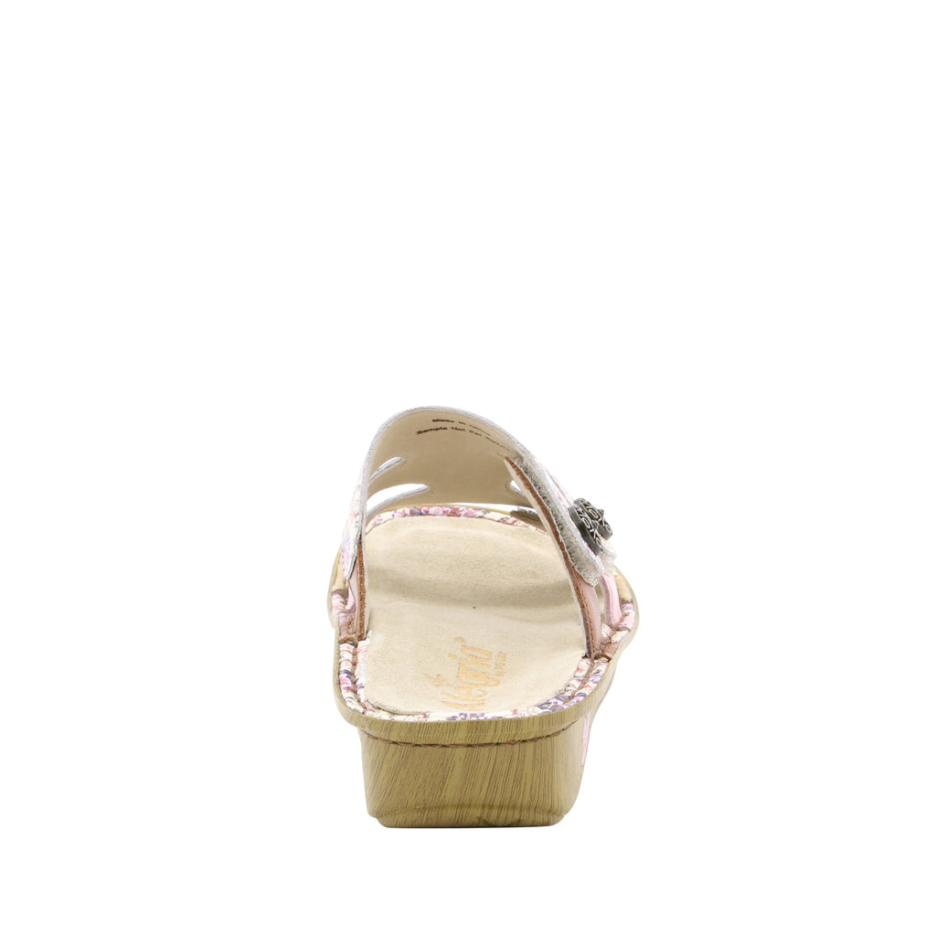 Venice What A Frill Mini three strap adjustable slide sandal on mini bottom - VEN-880_S3