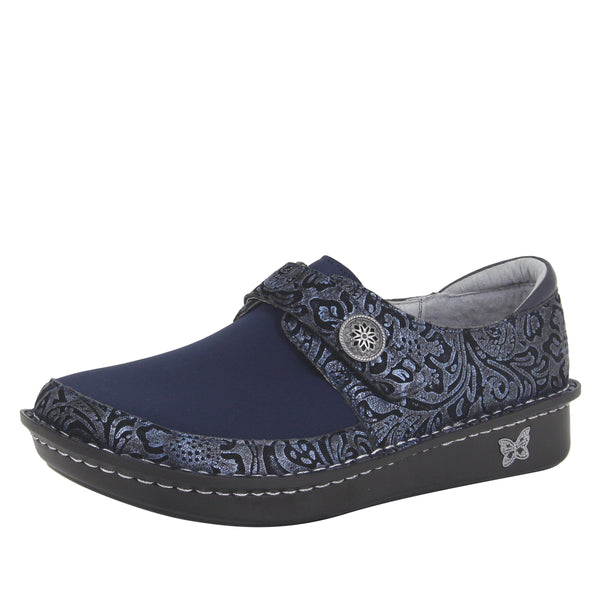 Brenna Navy Swish Shoe