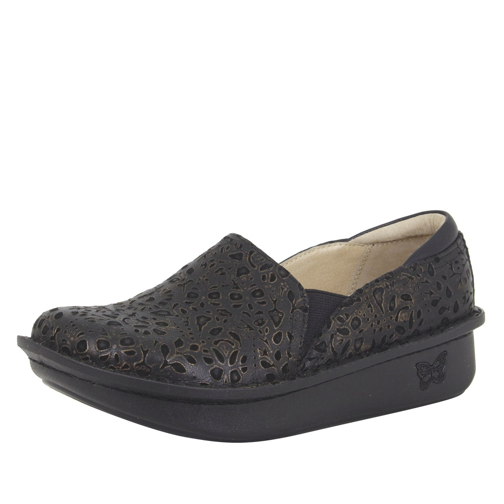 Debra Treasure slip on Professional shoe with slip resistant classic rocker outsole - DEB-845_S1 (513936785462)