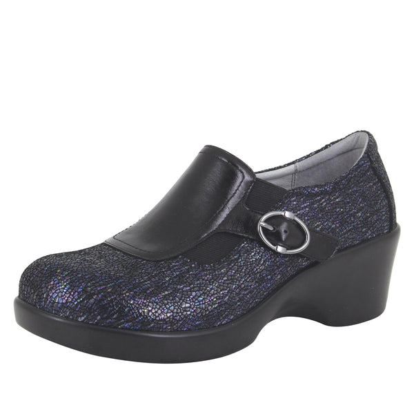 Enyah Myriad wedge shoe with elastic gore and slip resistant outsole - ENY-490_S1