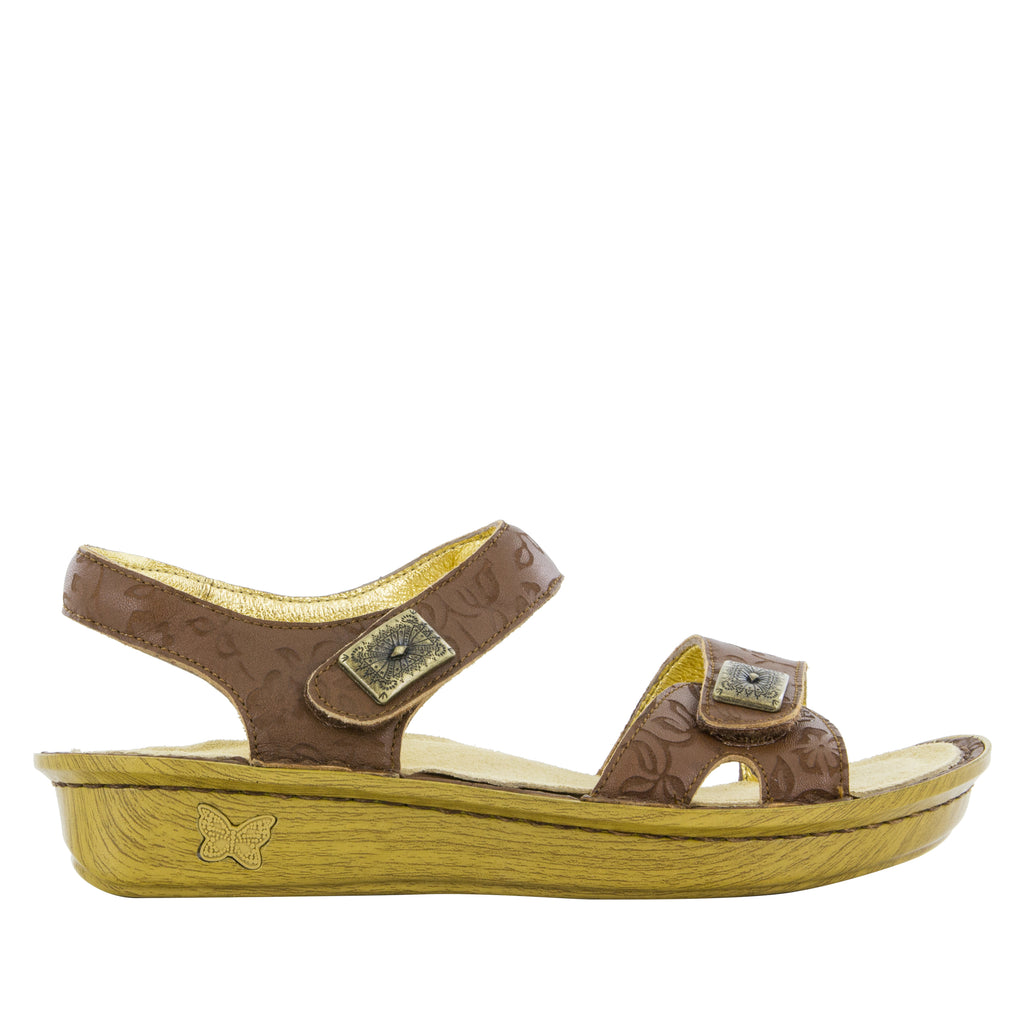 Vienna Morning Glory Tan Sandal (501812527158)