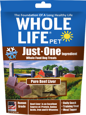 whole life beef liver treats