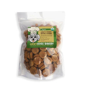 Lucky's Organic Peanut Butter Cookies - Happy Dog Food