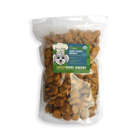 Lucky's Organic Sweet Potato Nuggets - Happy Dog Food