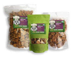 Lucky's Organic Super Sampler - Happy Dog Food