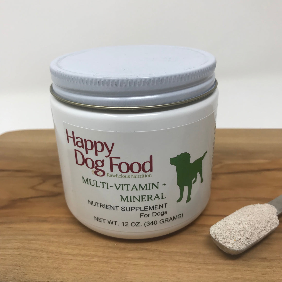 Nutrient Supplement for Dogs 12oz - Happy Dog Food