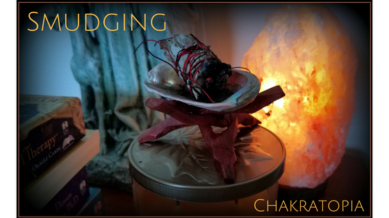 Chakratopia Power Tool:  Smudging