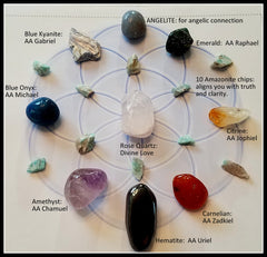 Archangel Energy Crystal Grid