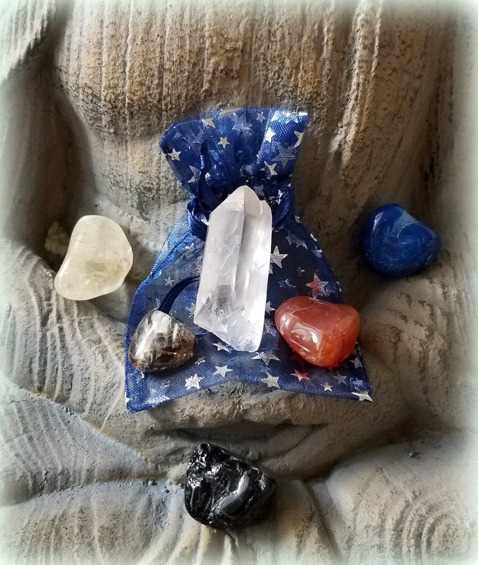 Crystal Power Pack:  Retrograde Support