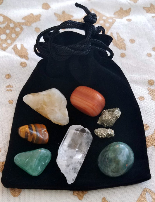 Crystal Power Pack:  Abundance & Prosperity