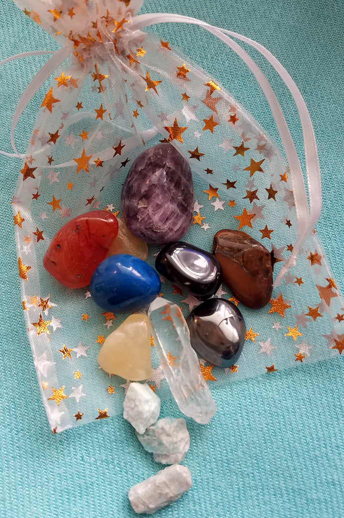 Crystal Power Pack: Your Custom Intention