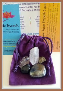 Crystal Power Pack:  Aura Protector, Empath Special