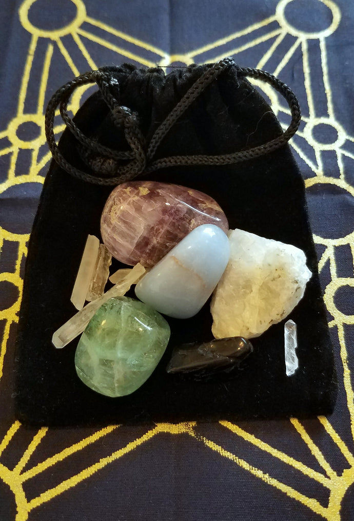 Archangel Michael Crystal Empowerment Pack