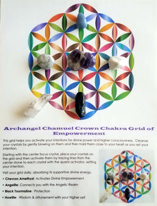 Empowerment Crystal Grid Kit