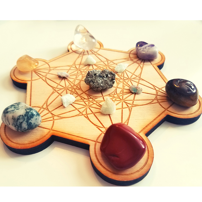 Crystal Grid Kit for Success & Manifestation