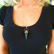 Kambaba Jasper Point Pendant
