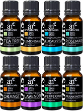 Set of 8 ArtNatural Essential Oils