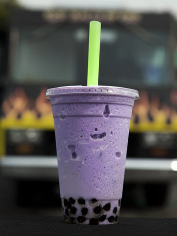 Taro cream flavored powders (2.2 lbs bag) for Bubble Tea Drinks