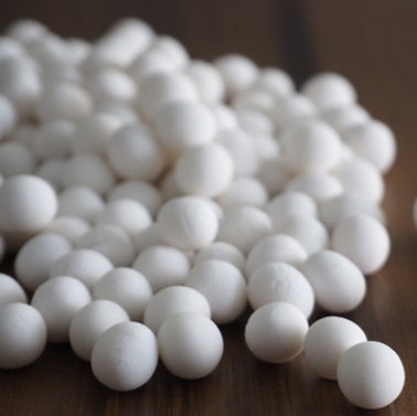 White MINI Pearls (12 kg) by the case
