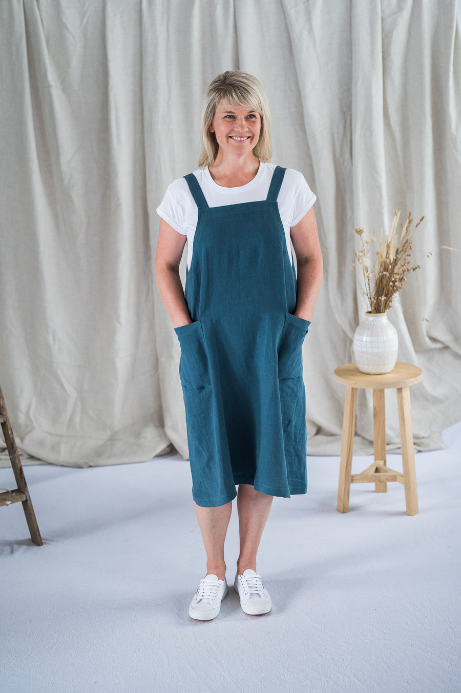 Crossback Tunic - Spruce