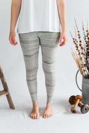 Travel Pants - Geo Moss - Shop Online At Mookah - mookah.com.au